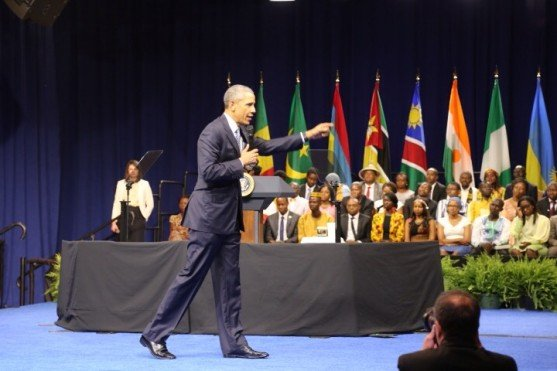 President Obama at YALI