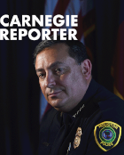 Carnegie Reporter Cover Vol. 10/No. 1
