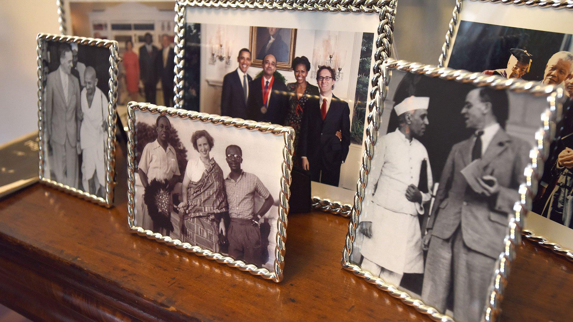 Kwame Anthony Appiah family photos