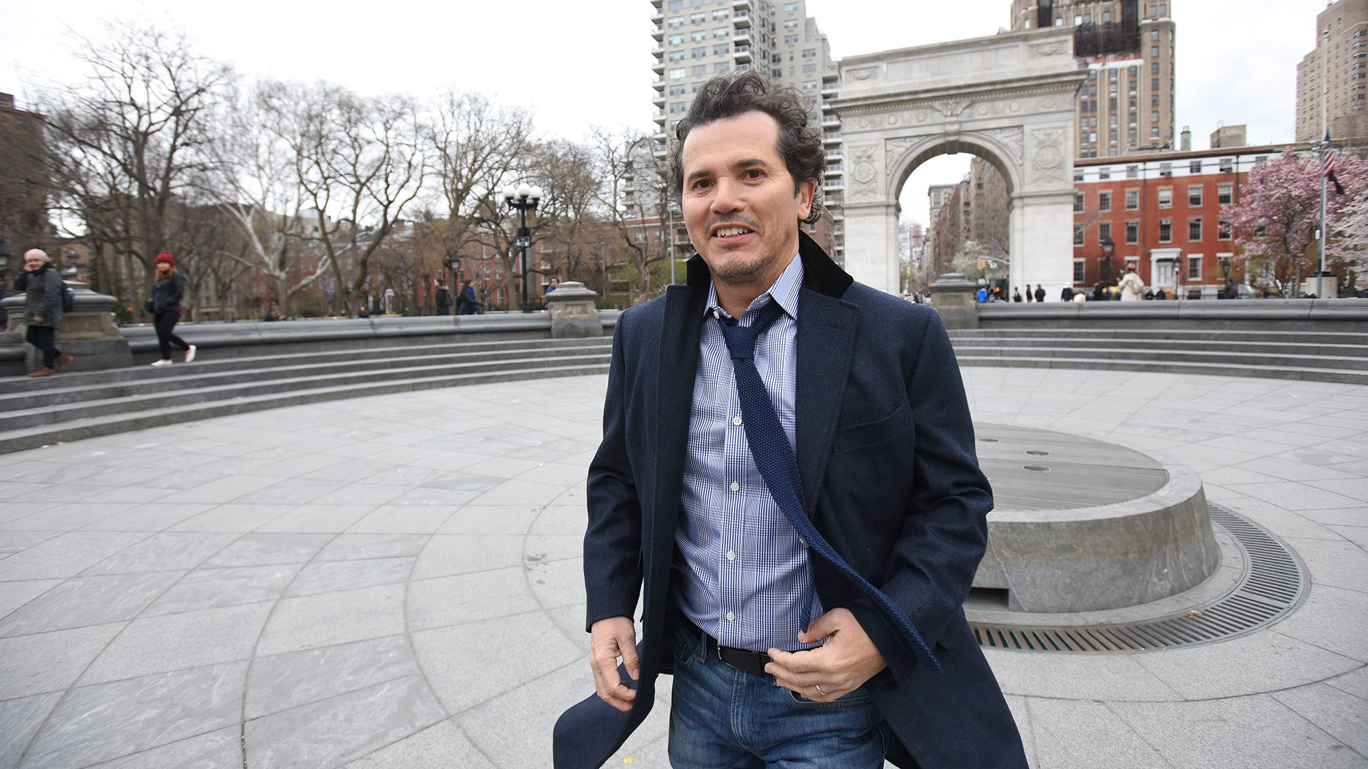 John Leguizamo Washington Square Park