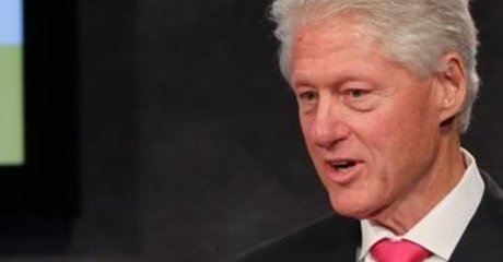 Former President Bill Clinton addresses STEM education reformers in New York City.