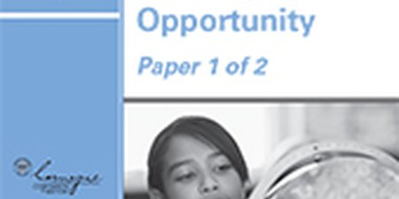 Next Generation Learning: Defining the Opportunity