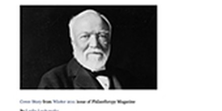 The Carnegie Corporation Turns 100