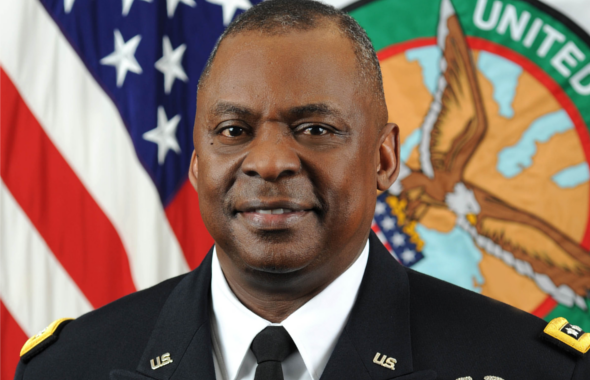 General Lloyd J. Austin III, U.S. Army (Ret.), the former commander of United States Central Command (CENTCOM).