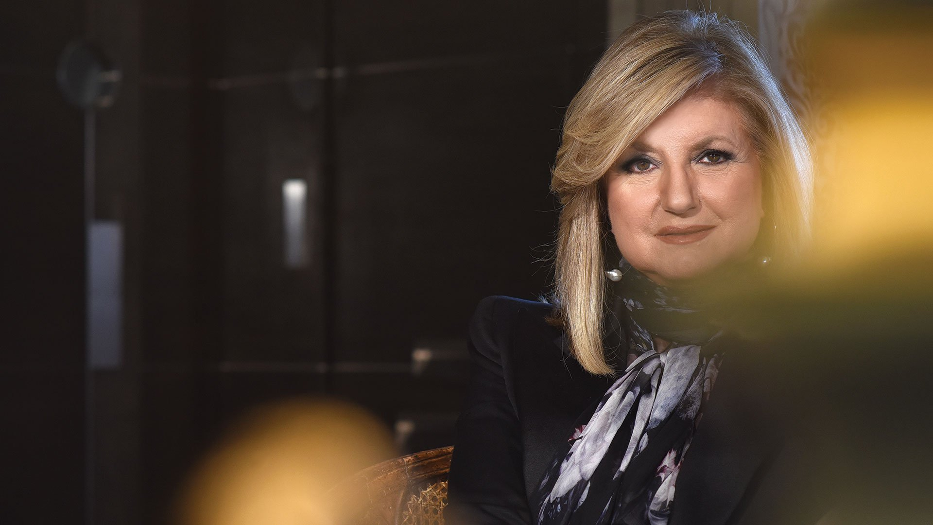 Arianna Huffington at Home