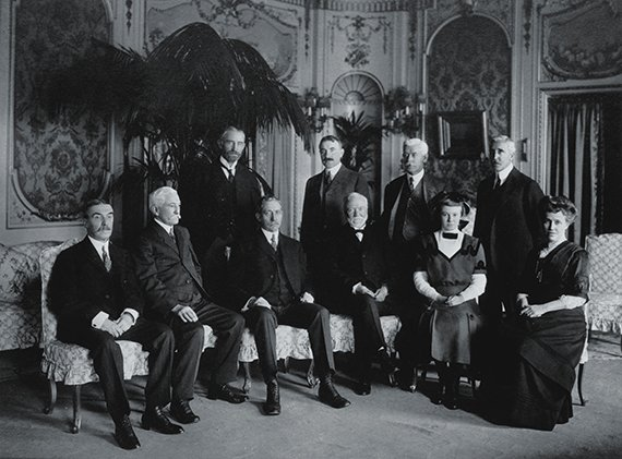 Trustees at the Corporation's first board meeting, November 10, 1911