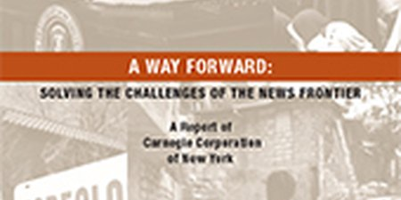 A Way Forward. Solving the Challenges of the News Frontier