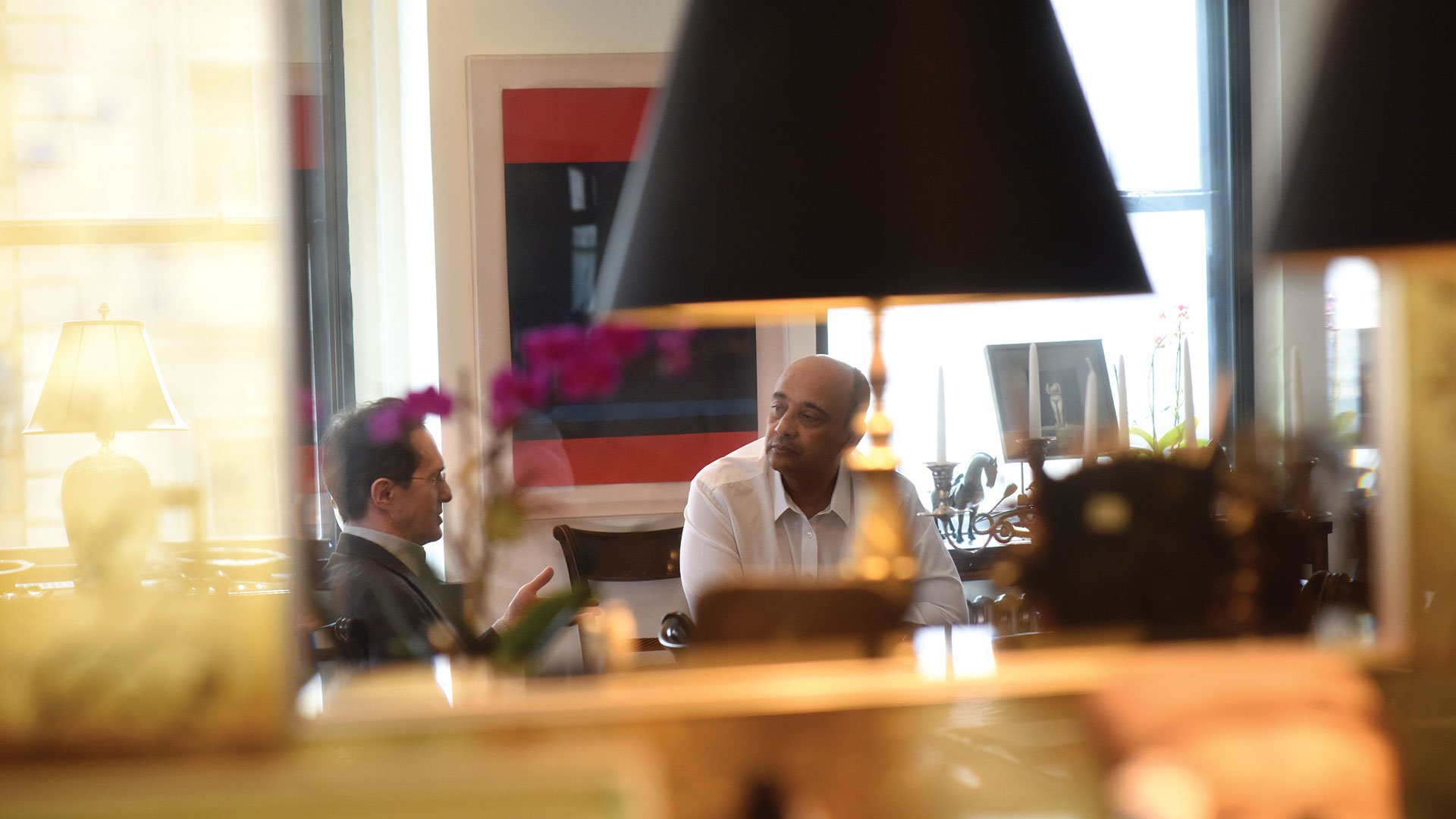 Kwame Anthony Appiah at his Tribeca home (4)