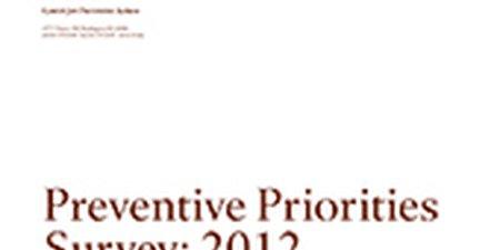 Preventive Priorities Survey