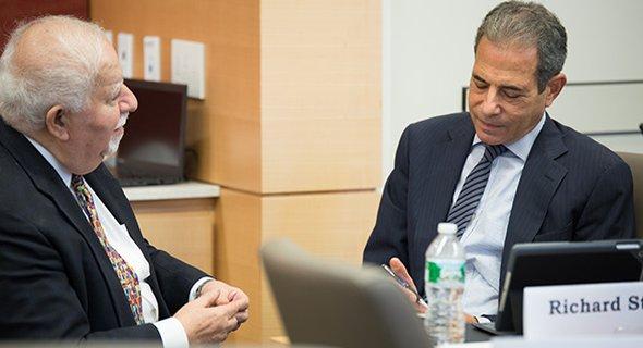 Vartan Gregorian, President, Carnegie Corporation of New York and Richard Stengel, Undersecretary for Public Diplomacy and Public Affairs, U.S. Department of State